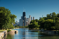 Lincoln Park Lagoon Chicago