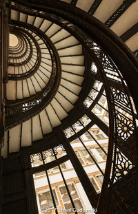 Rookery Building Stairwell