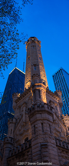 Chicago Water Tower Panorama