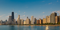 Lakeshore Chicago Skyline
