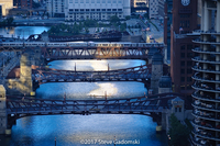 Chicago River First Light