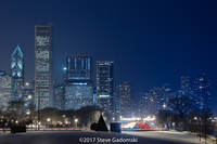 Lake Shore Drive Chicago Winter