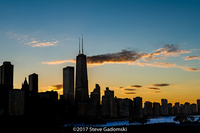 Chicago Skyline Silhouette