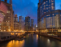 Chicago River Lights