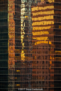 City Reflected Chicago