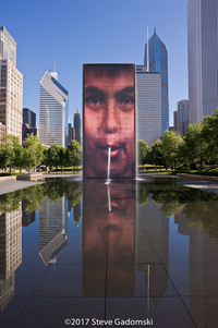Millennium Park Crown Fountain