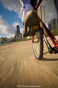 Biking Chicagos Lakefront