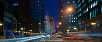 Michigan Avenue Chicago Night